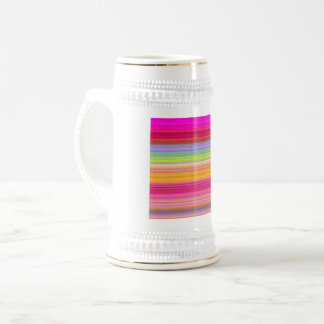 Personalize - Multicolor gradient background Beer Stein