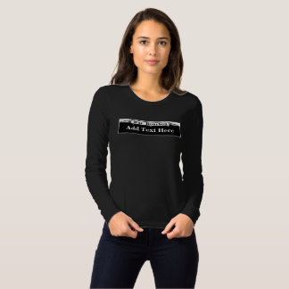 (Personalize)Name or Text Bourbon Street Sign T-shirt