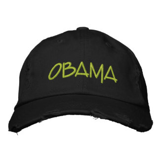 Personalize OBAMA Commemorative gift Embroidered Baseball Cap