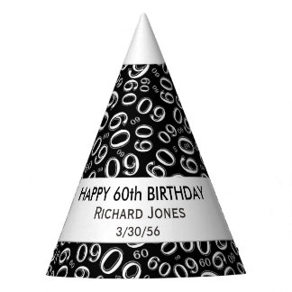 Personalize: Over The Hill 60th Birthday Theme Party Hat