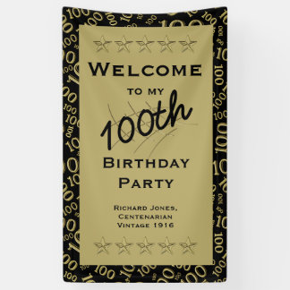 Personalize:  Personalize: Welcome to my 100th Bir Banner