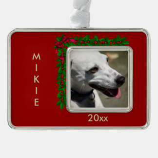 Personalize Photo Ornaments