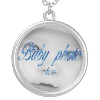 PERSONALIZE PHOTO STERLING SILVER NECKLACES