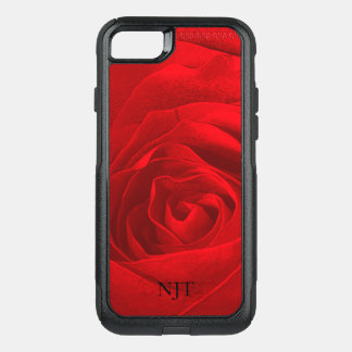 Personalize: Photography - Red Rose Abstract OtterBox Commuter iPhone 8/7 Case