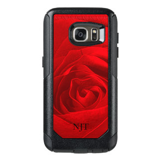 Personalize: Photography - Red Rose Abstract OtterBox Samsung Galaxy S7 Case
