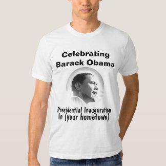Personalize President Obama Inauguration Souvenir T-shirts