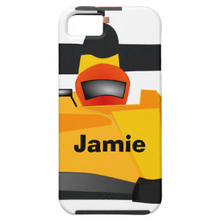 Personalize Race Car Birthday Party Gifts iPhone 5 Cover