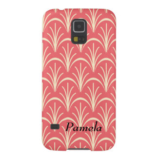 Personalize Red Floral Pattern by storeman Galaxy S5 Case
