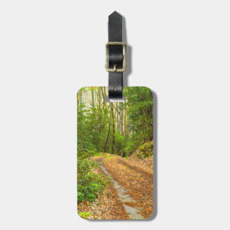 Personalize: Smoky Mountain Dirt Road Picture Bag Tag