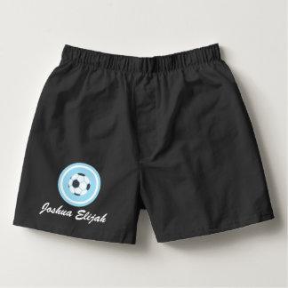 Personalize Soccer Men's Boxercraft Cotton Boxers