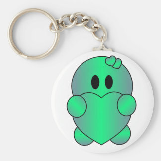 Personalize ST-PATRICK'S DAY Cute Basic Round Button Key Ring