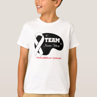 Personalize Team Name - Retinoblastoma Tee Shirt