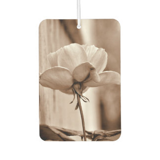 Personalize Template Sepia Rose Flower