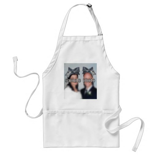 Personalize the Big Bow Hat Aprons