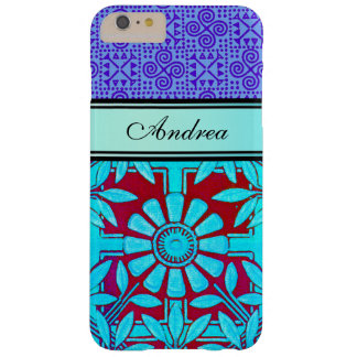 Personalize this Bianca and Zinnia Barely There iPhone 6 Plus Case