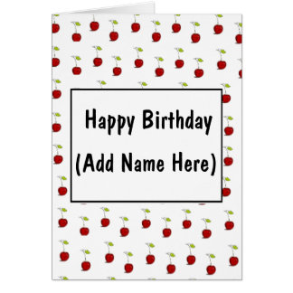 Personalize this Happy Birthday Card