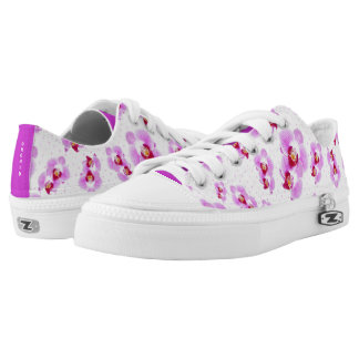 Personalize: Tropical Orchid Floral Photography Printed Shoes