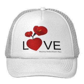 PERSONALIZE VALENTINE'S DAY / WEDDING TRUCKER HATS