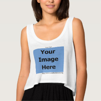 Personalize w/Your Malinois Rescue's Photo Tank Top
