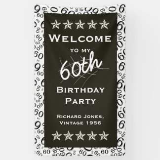 Personalize: Welcome to my 60th Birthday Party