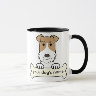 Personalize Wire Fox Terrier Mug