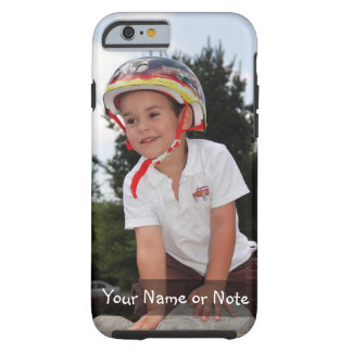 Personalize with a Photo of Your Favorite Child Tough iPhone 6 Case