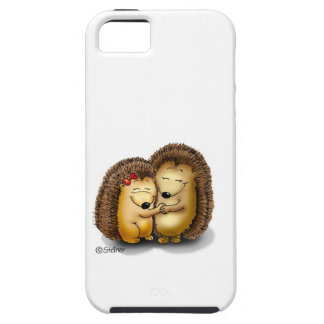 Personalize with name - Hugging Hedgehogs iPhone 5 Covers