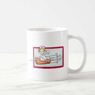 Personalize with name - The Super Nurse Mug