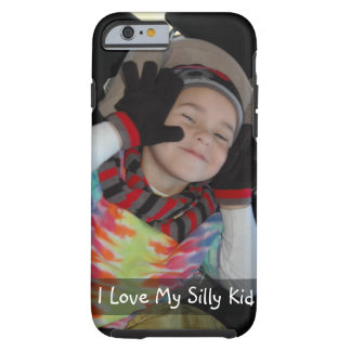 Personalize with Photo of Your Funny Kid Tough iPhone 6 Case