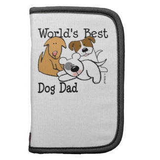 Personalize World s Best Dog Dad Organizers
