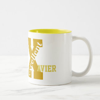 Personalize X named initial, Excellent Mugs