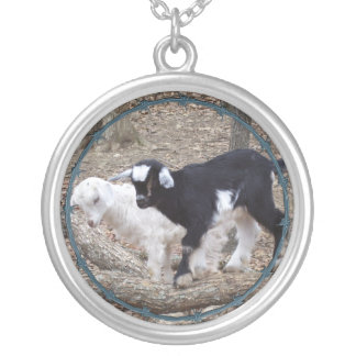 Personalize YOUR Goat's Photo  Necklace
