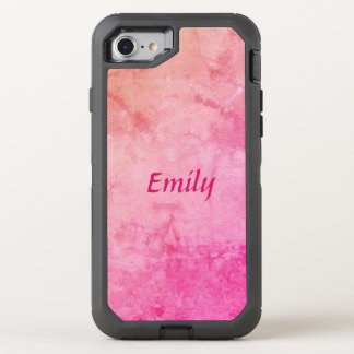 Personalize your Pretty Pink OtterBox Defender iPhone 8/7 Case
