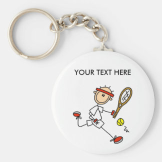 Personalize Yourself Men s Tennis Keychain