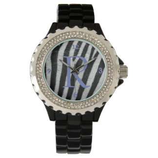 Personalize Zebra Design Watch