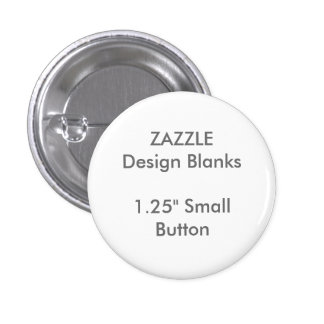 "Personalized 1.25"" Small Round Button Pin Template"