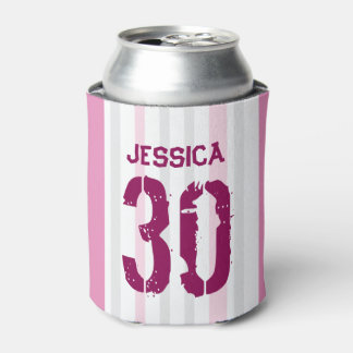 Personalized 30th Birthday PINK