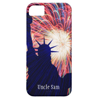 Personalized 4th of July Fireworks iPhone 5 Cover