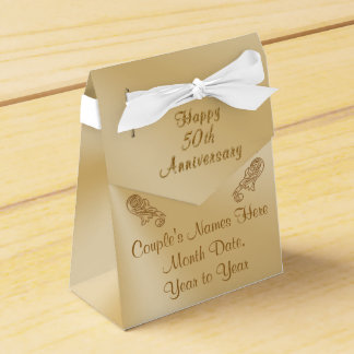 Personalized 50th Anniversary Party Favors Boxes