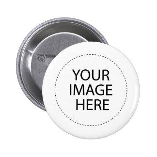 personalized 6 cm round badge