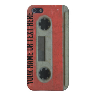 Personalized 80's Cassette Tape iPhone4 Case For iPhone 5/5S