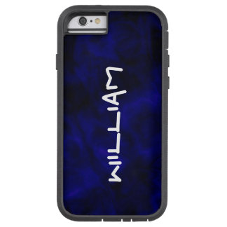 Personalized Abstract Blue iPhone Tough Case Tough Xtreme iPhone 6 Case