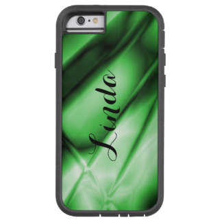 Personalized Abstract Green iPhone Tough Case