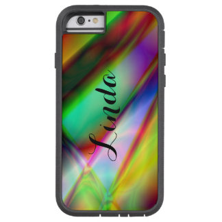 Personalized Abstract MultiColor iPhone Tough Case