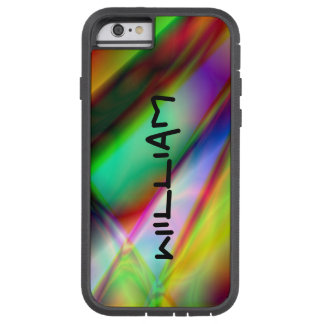 Personalized Abstract MultiColor iPhone Tough Case Tough Xtreme iPhone 6 Case