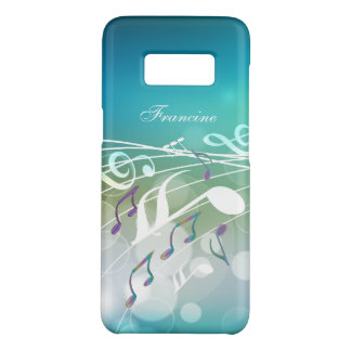 Personalized Abstract Music Design Case-Mate Samsung Galaxy S8 Case