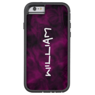 Personalized Abstract Purple iPhone Tough Case