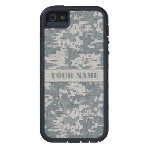 Personalized ACU Camouflage iPhone 5 Xtreme Case iPhone 5 Case