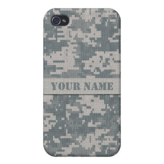 Personalized ACU Digital Camo iPhone 4/4S Case