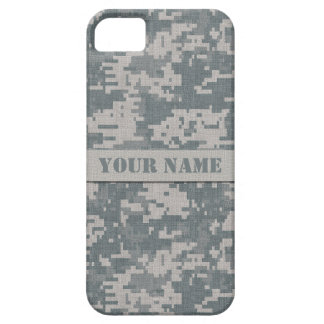 Personalized ACU Digital Camo iPhone 5/5S Case
